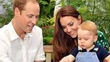 Georges Geburi: Stolze Eltern William und Kate sagen «Thank you» (Artikel enthält Video)