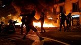 Barcelona erlebt die fünfte Krawall-Nacht in Folge (Artikel enthält Video)