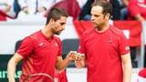 Ehrat bringt Schweizer Davis-Cup-Equipe in Front