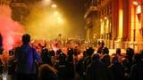 Neapel: Heftige Proteste gegen geplanten Lockdown (Artikel enthält Video)