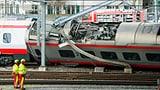 Video «Zug entgleist in Luzern» abspielen