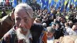 Tausende protestieren gegen «Steinmeier-Formel» (Artikel enthält Audio)