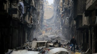 Bericht dokumentiert Kriegsverbrechen in Aleppo