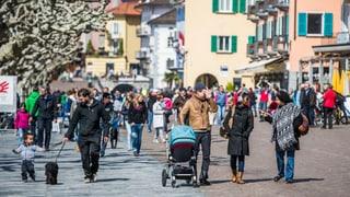 Immer mehr Menschen strömen in die Schweiz