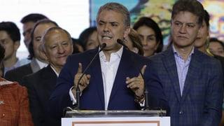 Präsident Iván Duque ist im Wahlkampf ergraut