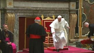Vatikan kontert Kritik an Papst