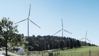 «Anwohner» haben nichts zu sagen zum Windpark Grenchenberg