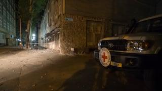Schweizer Helfer in Bombenhagel in Donezk getötet