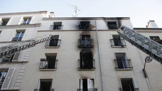 Acht Tote bei Grossbrand in Paris