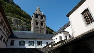 Kein Papst am Jubiläum der Walliser Abtei Saint-Maurice