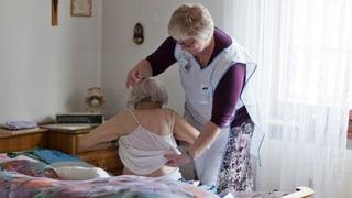 Ältere Walliser sollen länger daheim bleiben