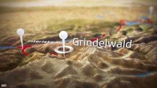 Video «Live aus Grindelwald, Abstieg von der Wilden Frau» abspielen