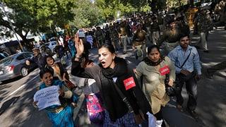 Proteste wegen Vergewaltigung von 5jähriger