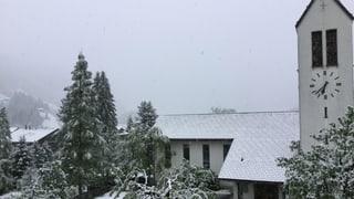 Nach dem Prachts-Wochenende folgt der Schneefall