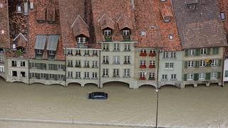 Zwölf Millionen Franken für Hochwasserschutz in Bern (Artikel enthält Video)