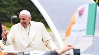 Papst bittet in Irland um Vergebung