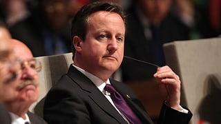 Londoner Finanzplatz erteilt Cameron eine «mittelgrosse Ohrfeige»