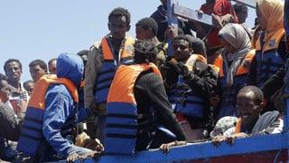 Mindestens 17 Tote bei Flüchtlingsunglück vor Lampedusa