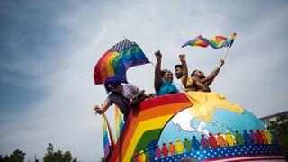 Twitter erstrahlt in Regenbogenfarben
