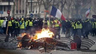 1700 arrestaziuns tar protestas dals «Gilets jaunes» a Paris