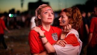 Kroaten feiern – Briten weinen
