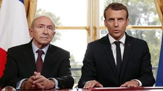 Macron akzeptiert Rücktritt seines Innenministers