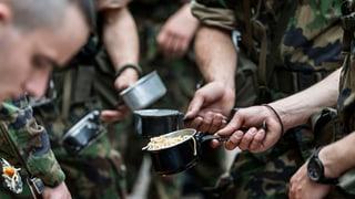 Armee kriegt Veganer nicht satt
