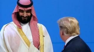 Mohammed bin Salman strahlt – Donald Trump bleibt hart