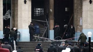 Wolgograd: Blutiger Anschlag kurz vor Olympia