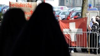 Schweizweites Verhüllungsverbot geht dem Bundesrat zu weit