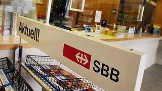 SBB verabschiedet sich aus dem Reisebürogeschäft