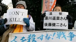 IS-Terror als Reaktion auf die neue japanische Aussenpolitik