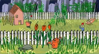 Lebensraum Garten: Warum das Grün im Grau so wichtig ist