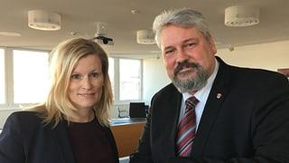 Im Streitgespräch des «Regionaljournal Zürich Schaffhausen» haben Yvonne Beutler und Michael Künzle die Klingen gekreuzt.