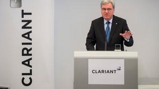 Starker Franken: Clariant schreibt weniger Gewinn