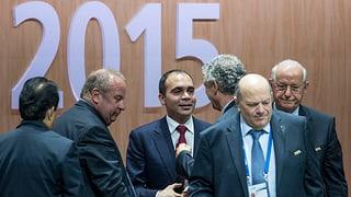 Die Fifa-Wahl: Protokoll eines spannenden Tages
