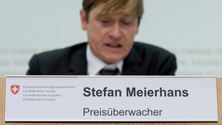 Meierhans: «Abzocke» bei Pharmapreisen
