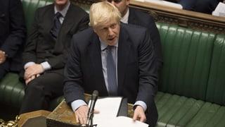 Boris Johnson sagt «Scheisse» – und meint es auch so