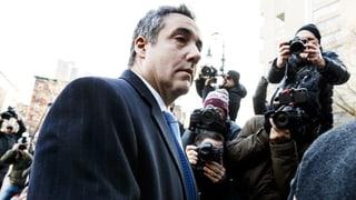 Trumps Ex-Anwalt Michael Cohen zu drei Jahren Haft verurteilt