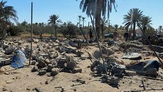 USA bombardiert IS-Terrorbasis in Libyen
