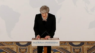 Theresa May sucht die Quadratur des Kreises