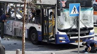 Anschlag auf Bus in Tel Aviv