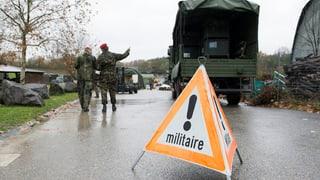 Kritik an Armeeübung Conex: Flüchtlinge sind keine Bedrohung