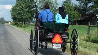 Die Amischen im amerikanischen Berne sind stolz auf ihre Schweizer Herkunft. Einige sprechen sogar Berndeutsch.