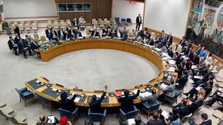 UNO-Sicherheitsrat für Aufhebung der Iran-Sanktionen