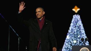 Last Christmas - Obamas lassen den Baum noch einmal leuchten