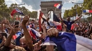 Begeisterter Empfang des Weltmeisters (Artikel enthält Video)