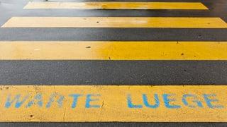 Unfallzone Fussgängerstreifen: Eine Schwerverletzte in Dottikon