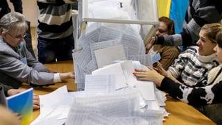 Gibt es in der Ukraine eine grosse Koalition?