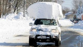 Let it Snow: Die Bilder aus dem Schneetreiben in den USA